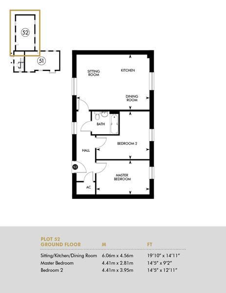 Discounted Open Market, Ground Floor, Plot 52 FloorPlan