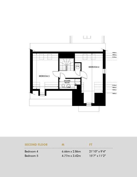 The Ingleton, Second Floor