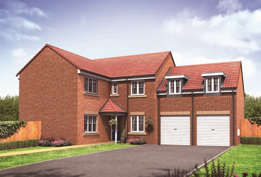 5 bedroom homes 5 bedroom house in ingleby barwick new houses for 10037