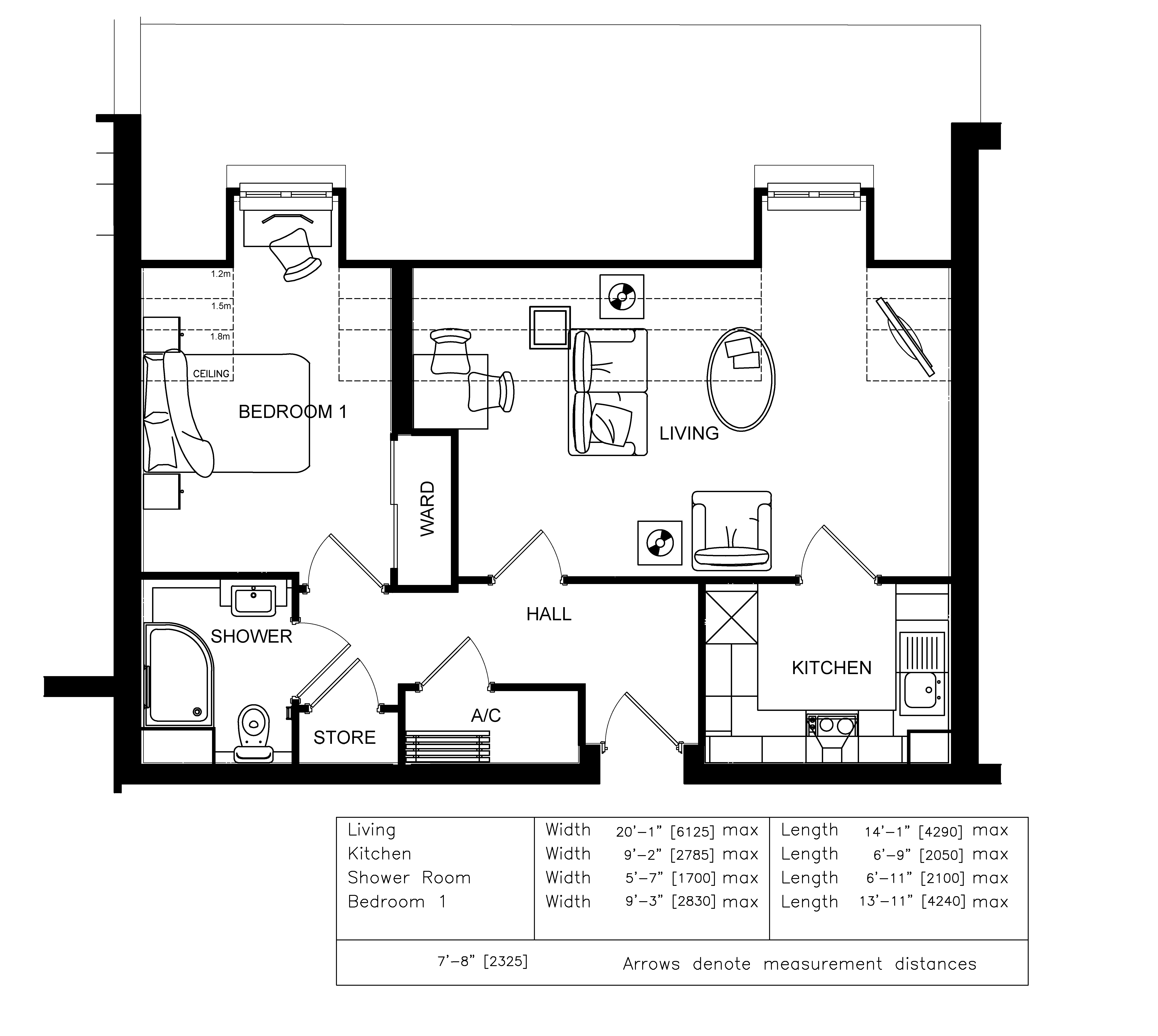 1 bedroom retirement apartment in berkhamsted new homes for Apartment design guide part 3
