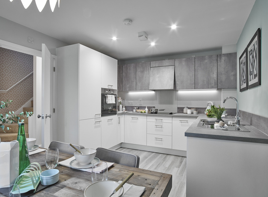 Image of 4 bedroom home - kitchen/dining area