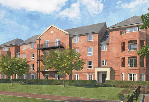 Windsor Court Apartments - Plot 020