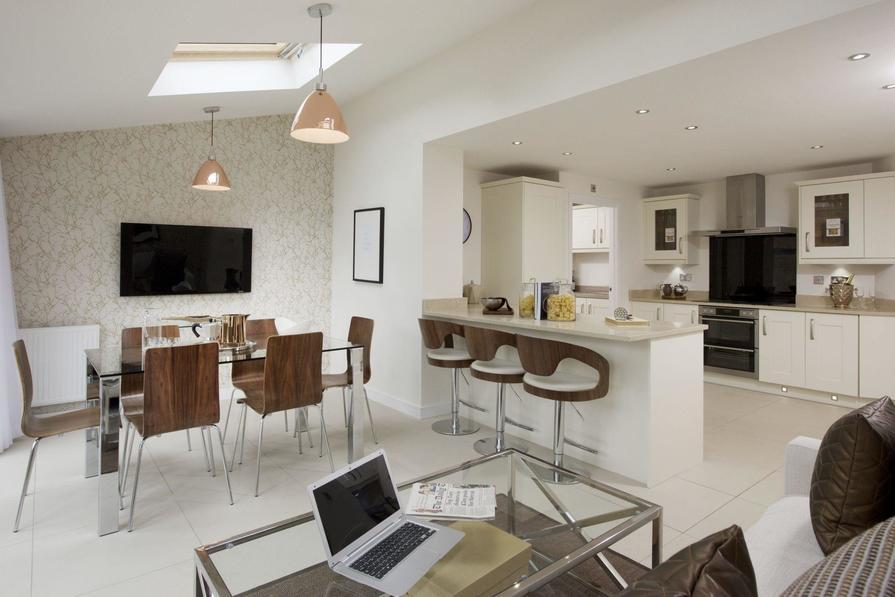 Kicthen/Dining/Family room