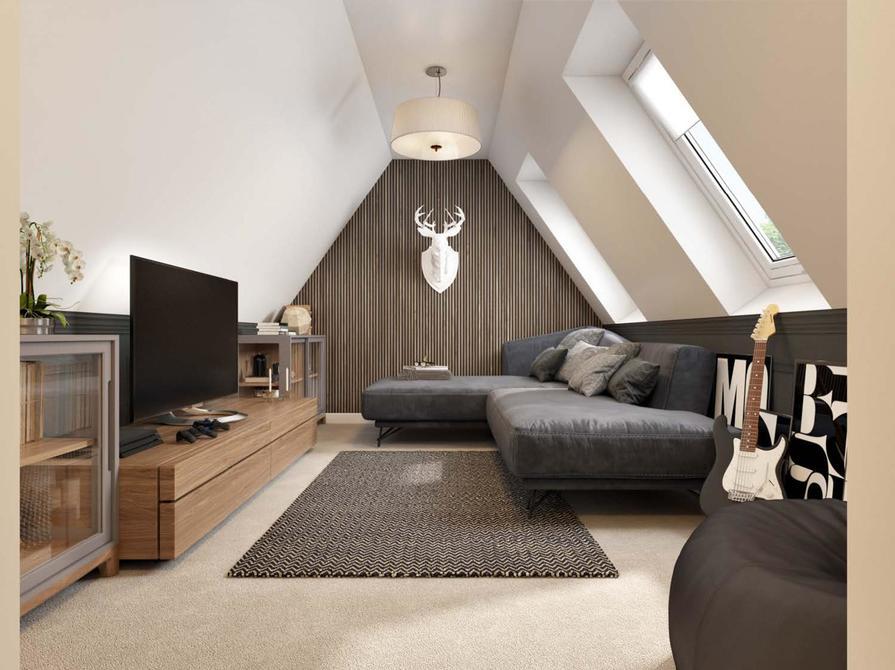 Second floor den