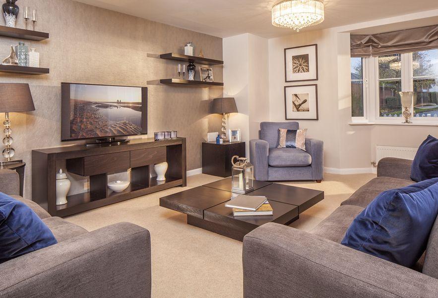 The Bradbury living room