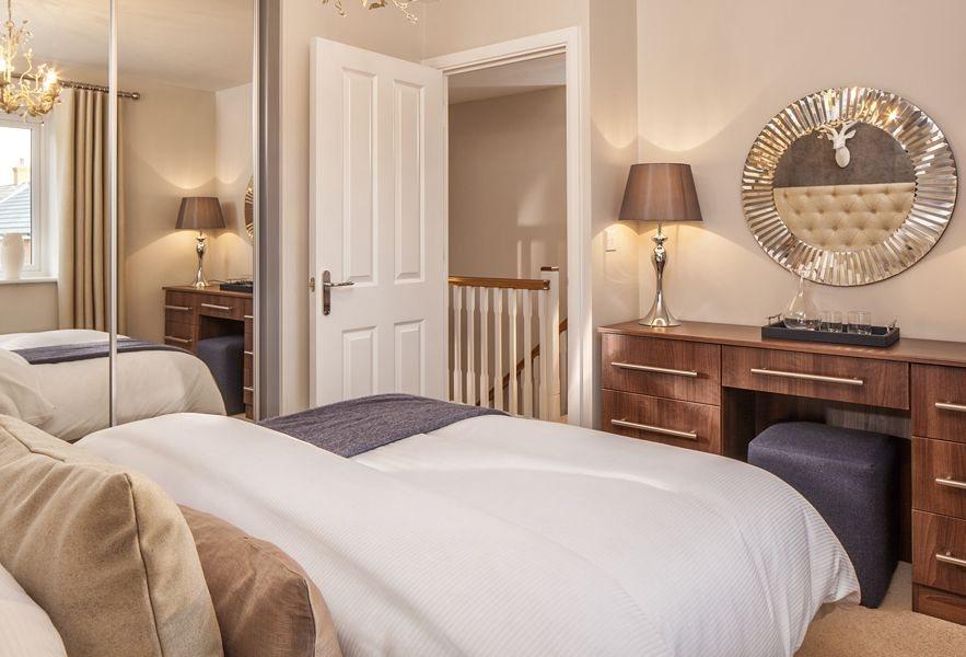 The Bradbury double bedroom