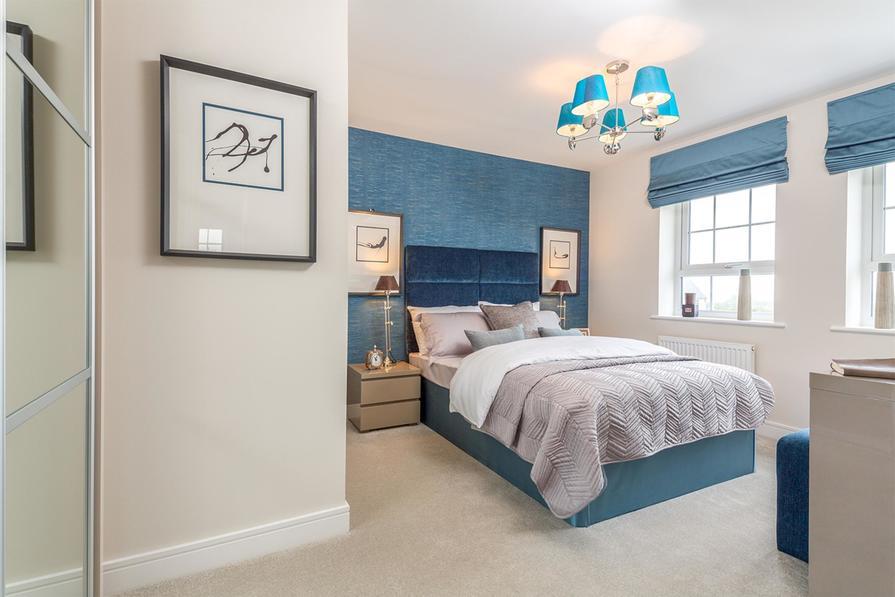 Holden double bedroom
