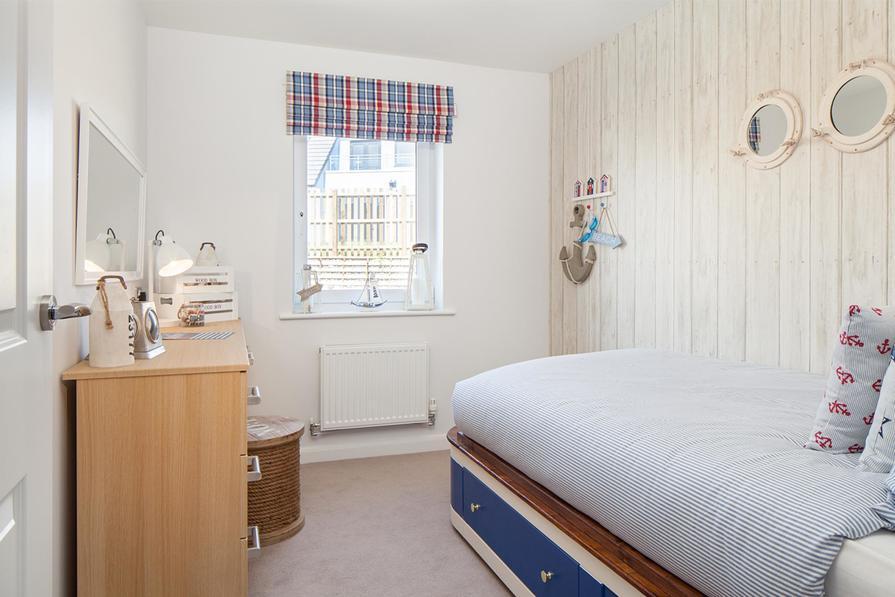 Holden single bedroom