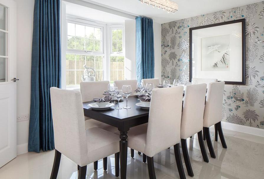 The Avondale dining room
