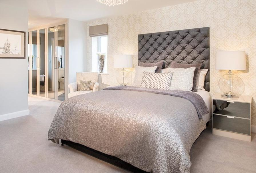 The Winstone master bedroom