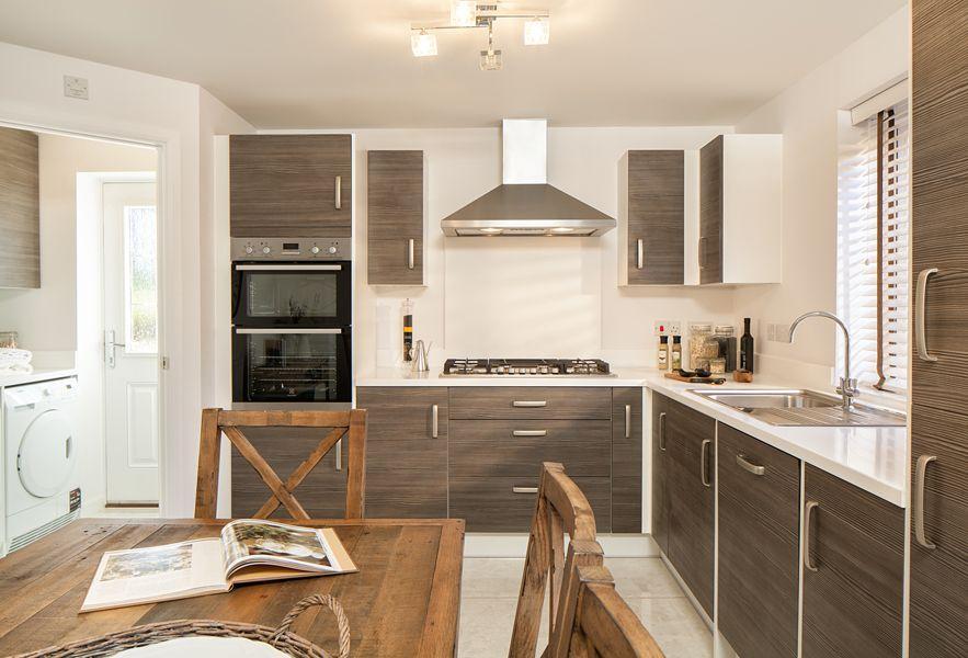 Kitchen/utility rooms