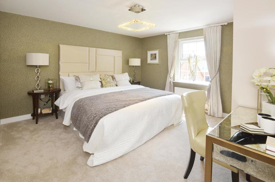 David Wilson Homes  Bed Room