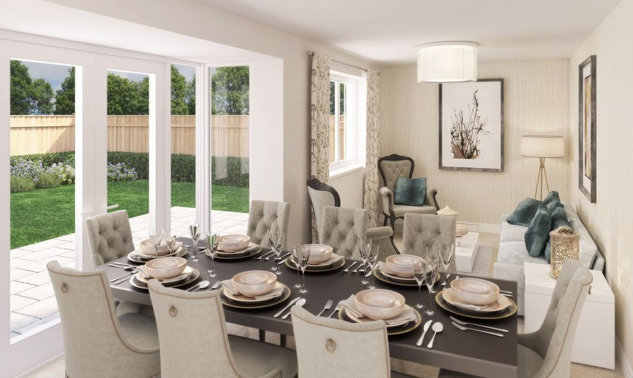 Dining and family area