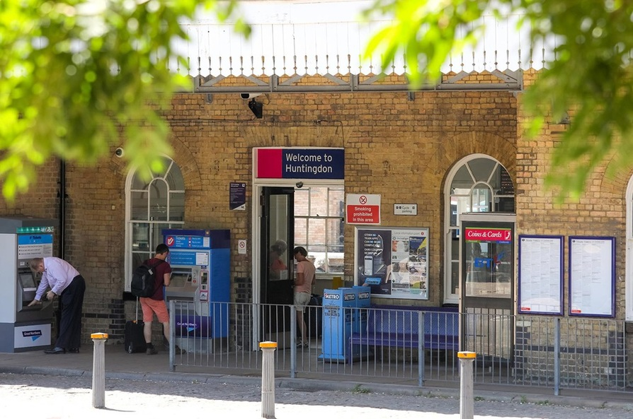 Huntingdon station