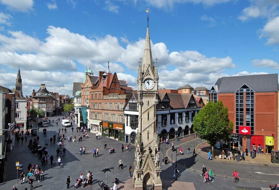 Leicester city centre