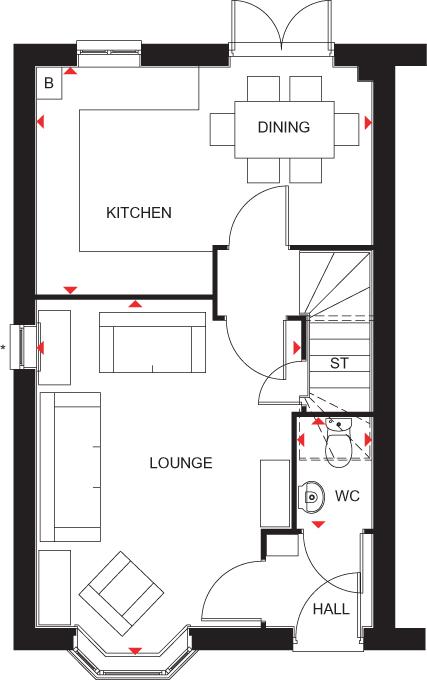 Kennett ground floor plan