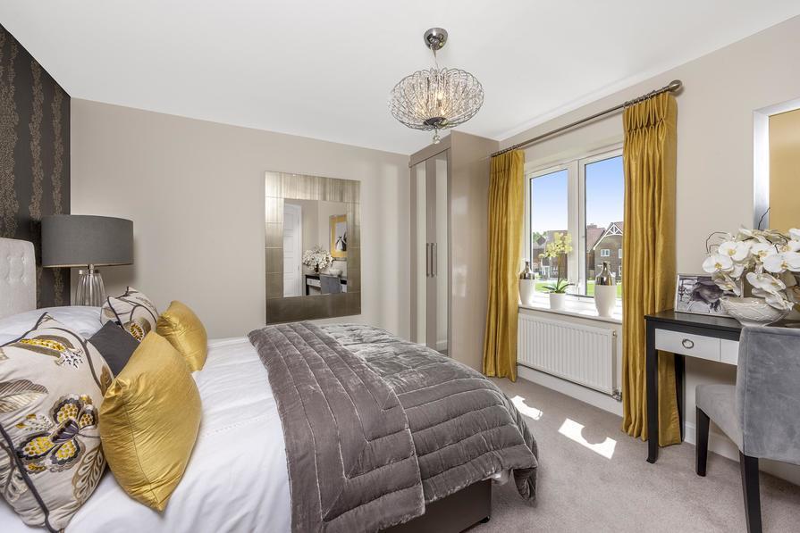 Ashworth 3 bedroom home at Heathwood Park master bedroom