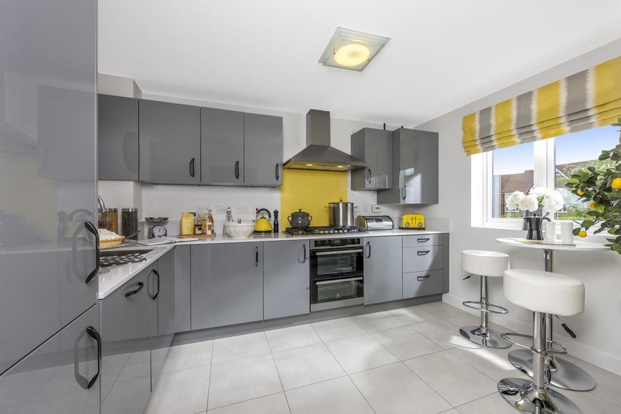 Ashworth 3 bedroom home at Heathwood Park kitchen