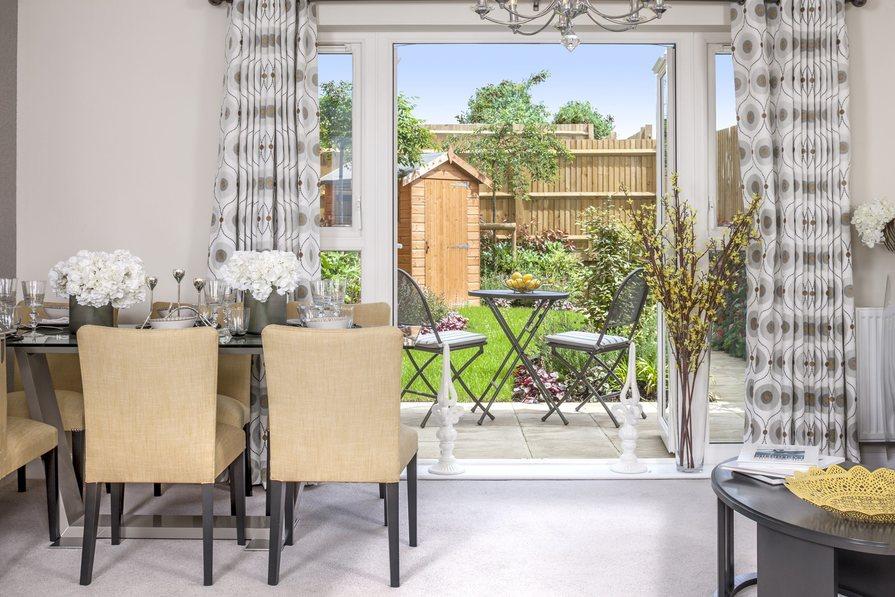 Ashworth 3 bedroom home at Heathwood Park garden