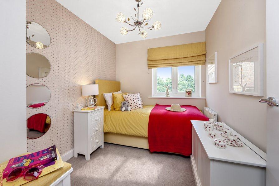 Ashworth 3 bedroom home at Heathwood Park bedroom 3