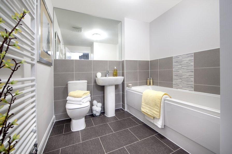 Ashworth 3 bedroom home at Heathwood Park bathroom