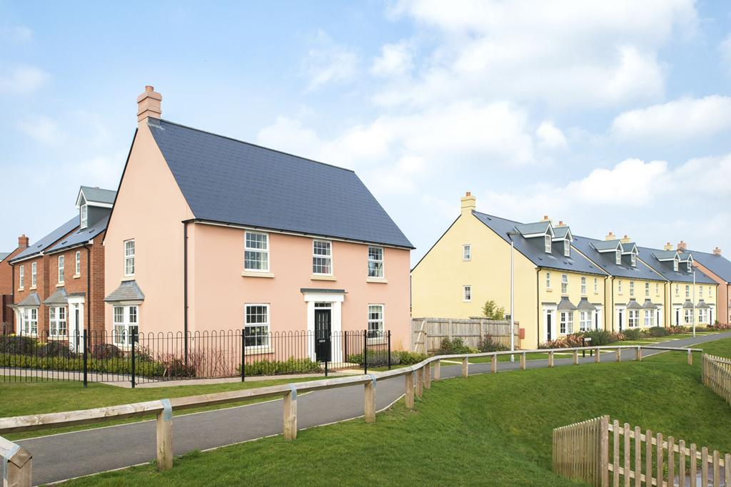 new homes in Exeter
