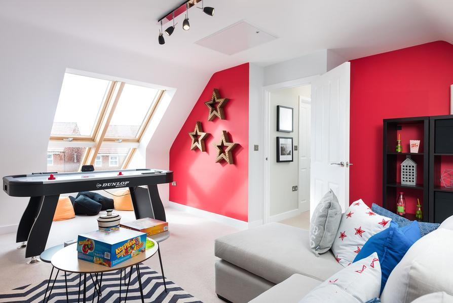 Second floor double bedroom