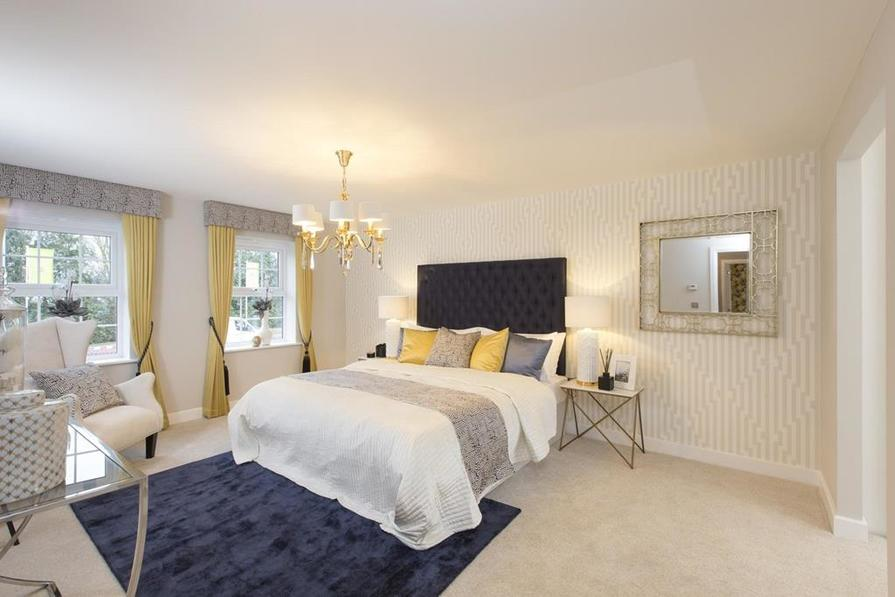 Buckingham master bedroom