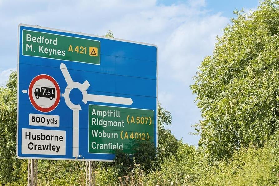 Ampthill sign