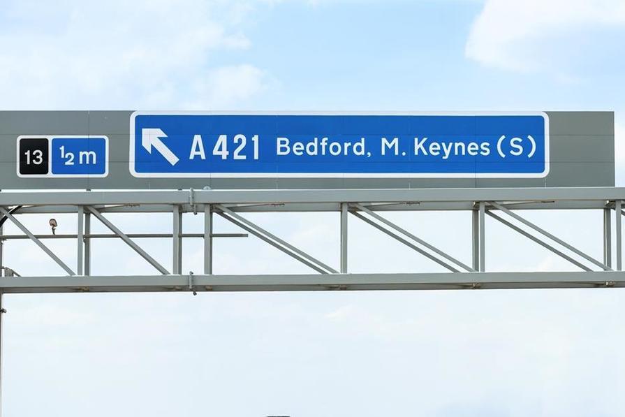 Lidlington close to M1 junction 13