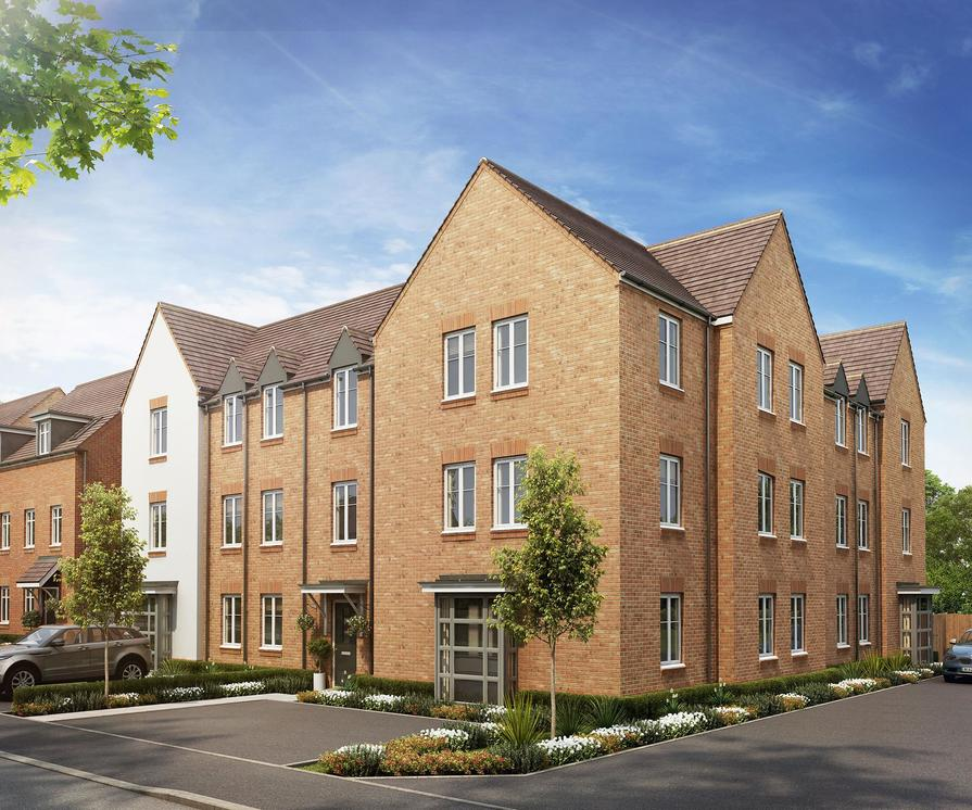 View All 5 Images 2 Bedroom Apartment In Wokingham Montague Park By David Wilson Homes