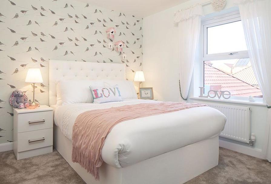 Oakfield: Double bedroom
