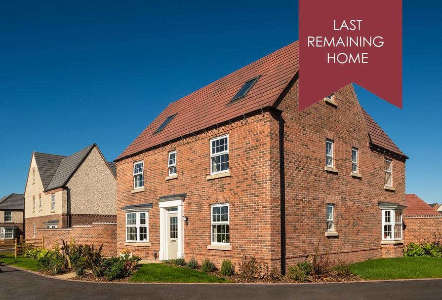Last five bedroom home Moorecroft