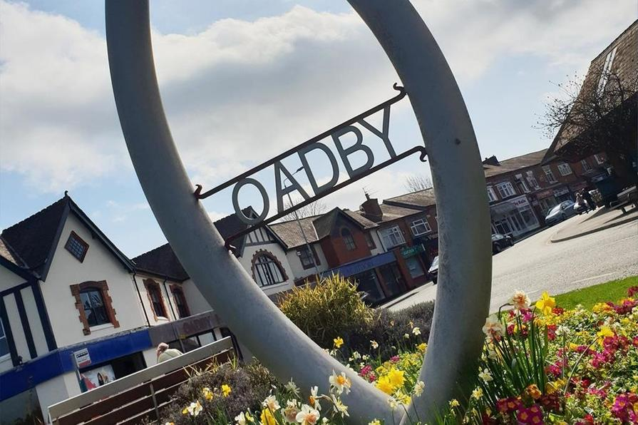 Oadby is just a short drive away