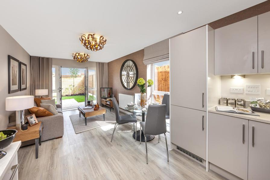New apartments at New Mill Quarter
