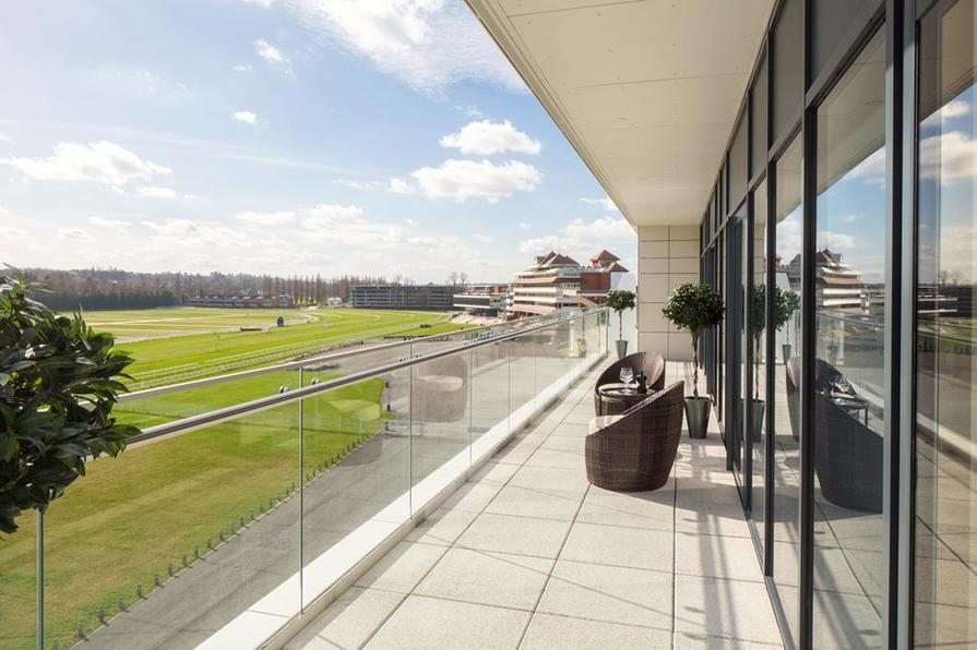 View at Newbury Racecourse