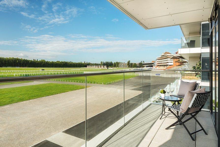 living at Newbury Racecourse