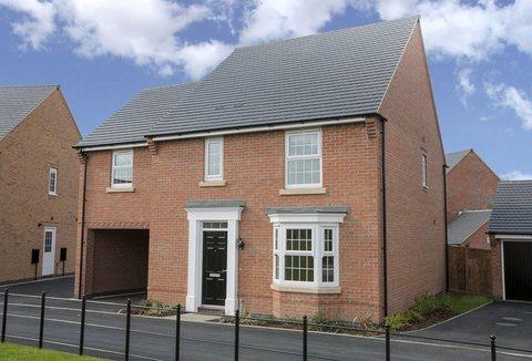 4 bedroom link detached house for sale