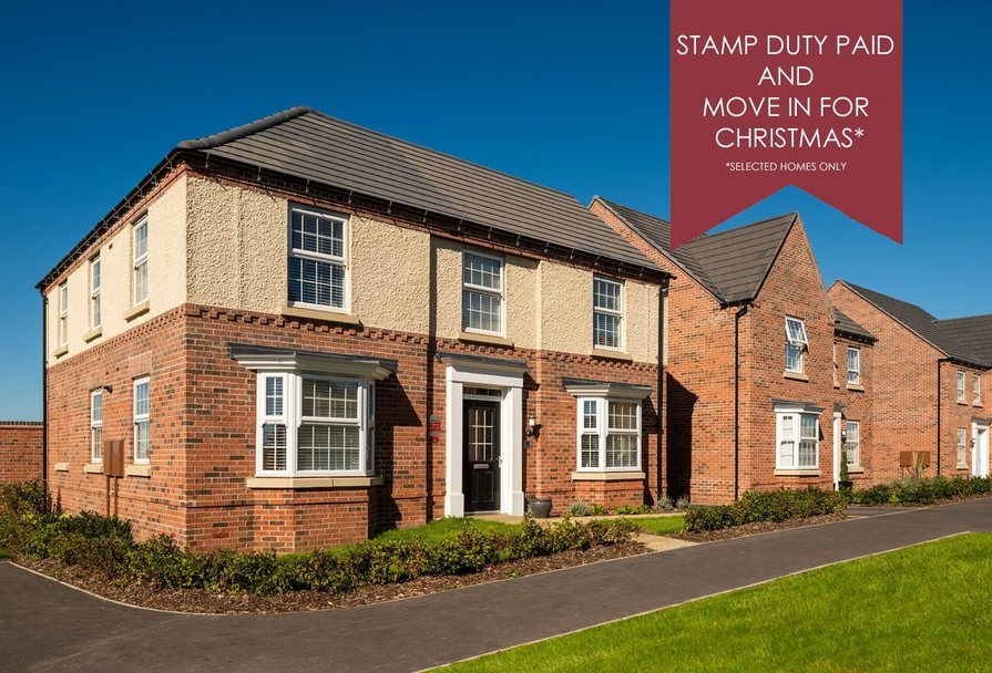 Stamp Duty paid and move in time for Christmas