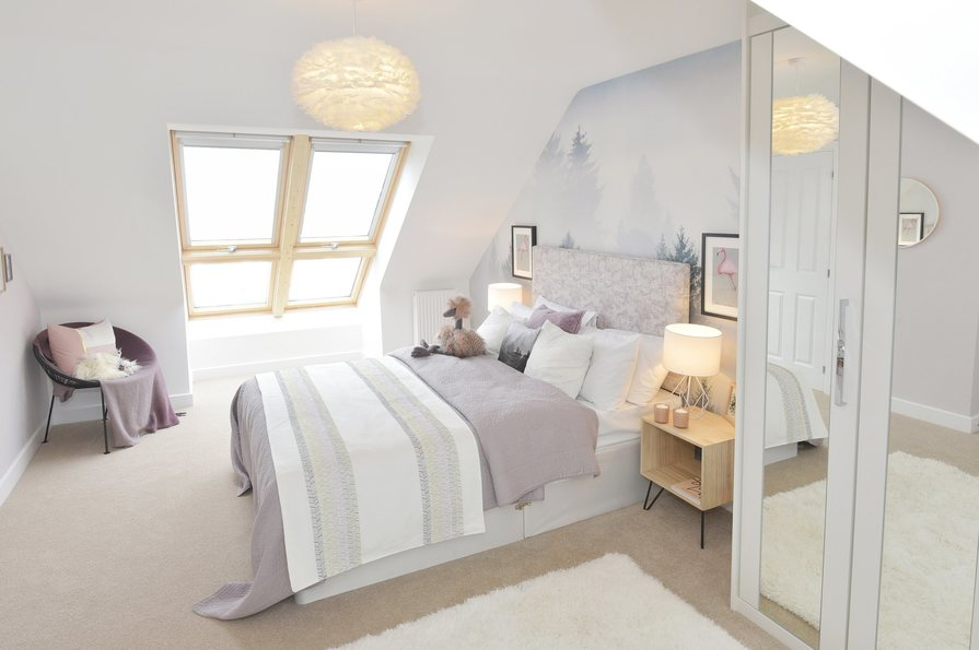 Buckingham Show Home - Top Floor Bedroom