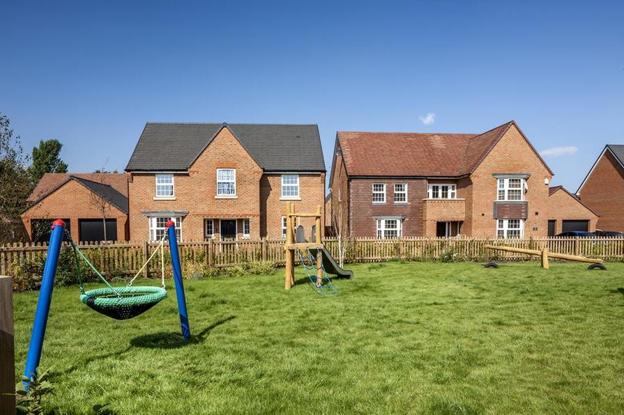 New homes at Preston Grange, near Canterbury