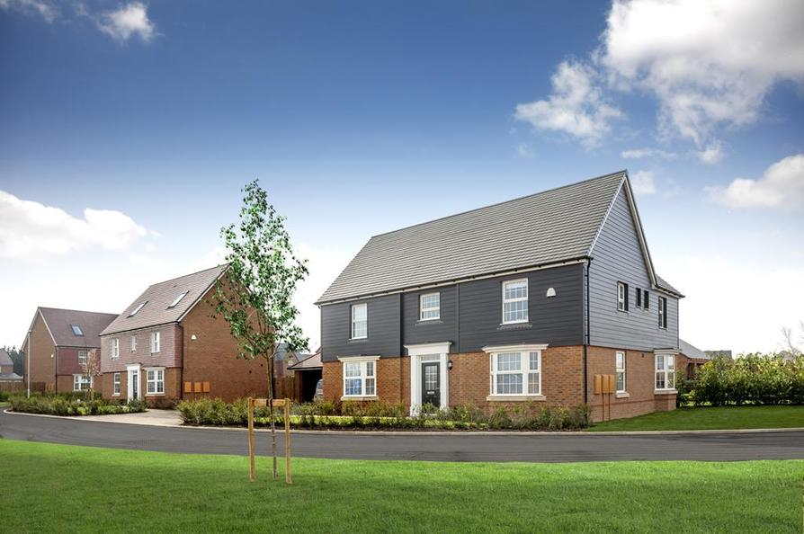Traditional new homes at Preston Grange, near Canterbury