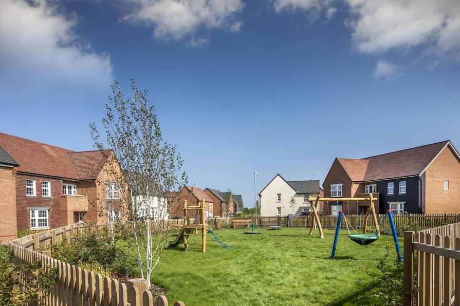 Play park at Preston Grange
