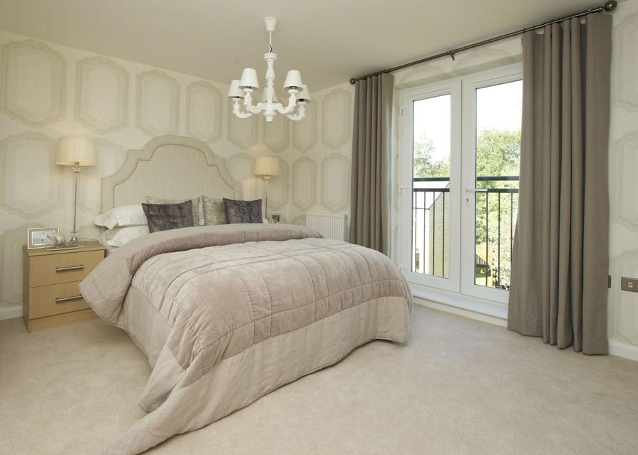 Atherton bedroom