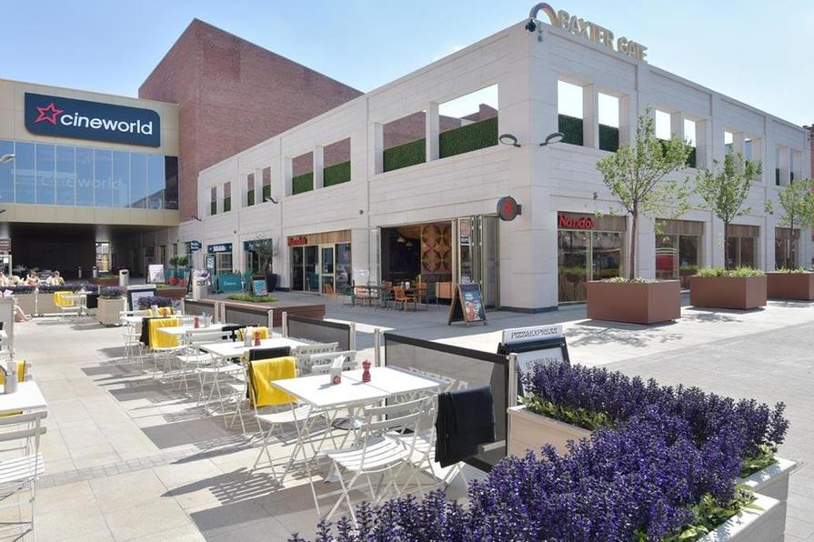 Baxter cinema and restaurants