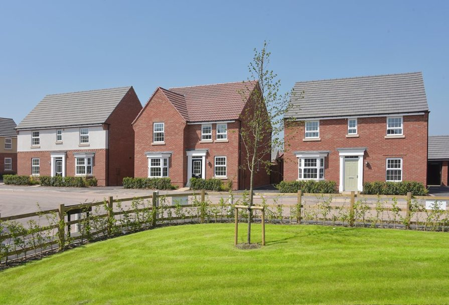New homes in Nuneaton