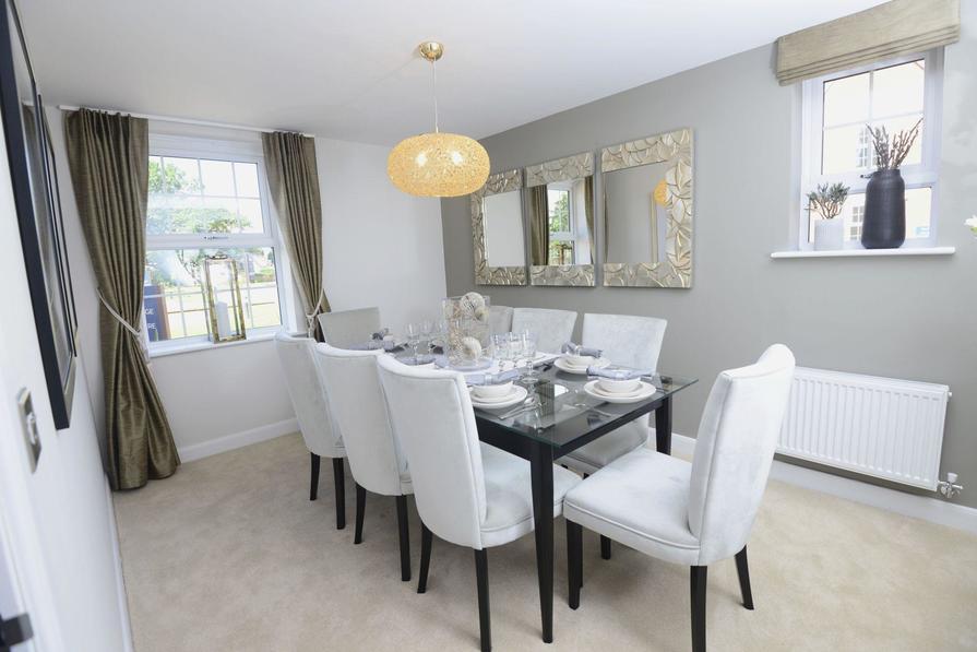 Moorecroft Dining Room