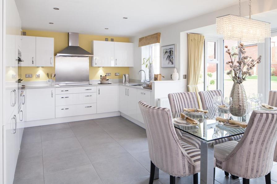 Holden open-plan kitchen