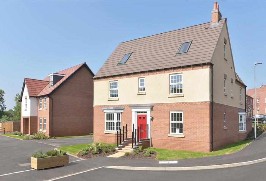 Secure your dream 4 and 5 bedroom home in Burbage, Leicestershire