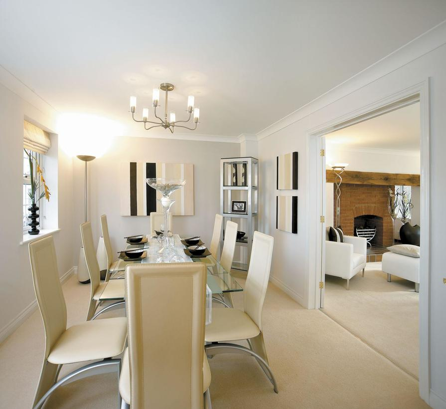 The Glidewell dining room